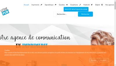 Site internet de Cotepub