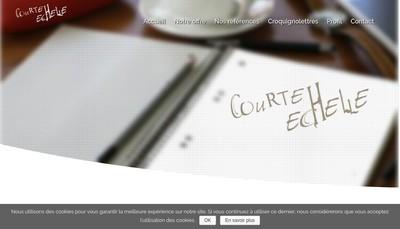 Site internet de Courte Echelle