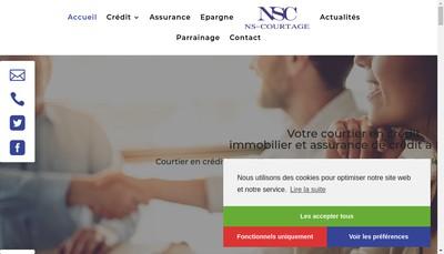 Site internet de Courtier-Conseil