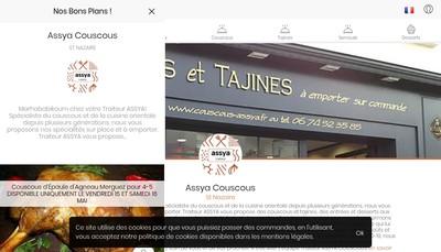 Site internet de Assya Couscous