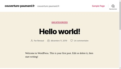 Site internet de Paumard