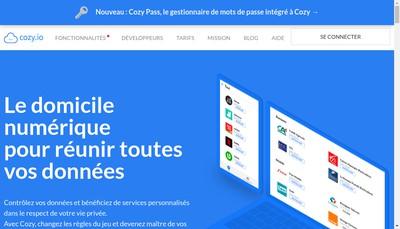 Site internet de Cozy Cloud