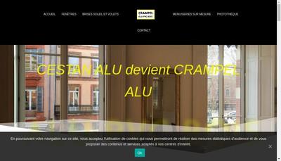 Site internet de Crampel Alu