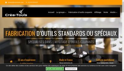 Site internet de Safrec