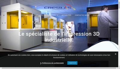 Site internet de Cresilas
