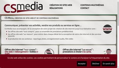 Site internet de Cs Media