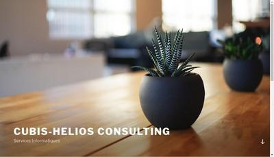 Site internet de Cubis-Helios Consulting