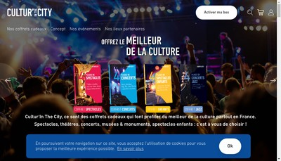 Site internet de Otheatro - Culture'In The City - Cultur'In