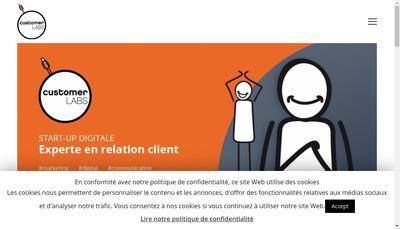 Site internet de Customer Labs