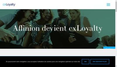 Site internet de Cxloyalty International Assurances