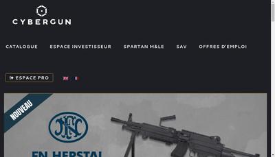 Site internet de Marui Kwc Soft Air Soft Gun - 3 Pyclones