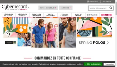 Site internet de Cybernecard International