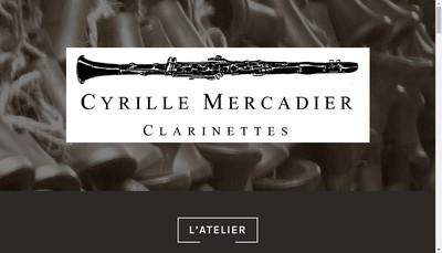 Site internet de Cyrille Mercadier Clarinettes