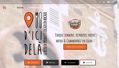 Site internet de D'Icidela