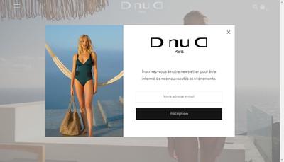 Site internet de D Nu D
