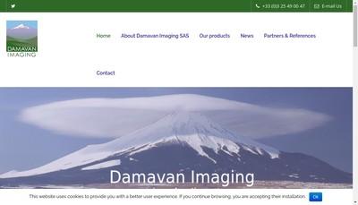 Site internet de Damavan Imaging