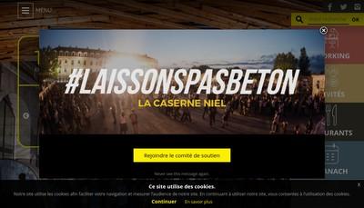 Site internet de Darwin - Bastide