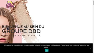 Site internet de DBD Istres