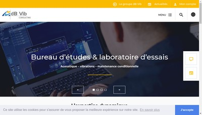 Site internet de Dbvib Consulting