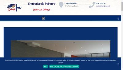 Site internet de SARL Jean-Luc Debays