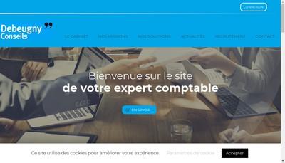 Site internet de Debeugny Conseils