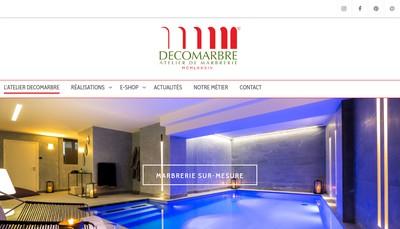 Site internet de Decomarbre