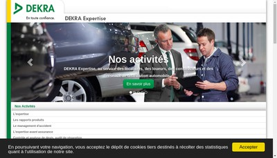 Site internet de Cabinet d'Expertises Raymond Tanferri