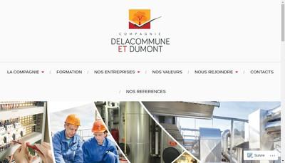 Site internet de Manco Delacommune et Dumont