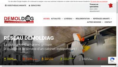 Site internet de Demoldiag