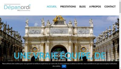 Site internet de Depanordi