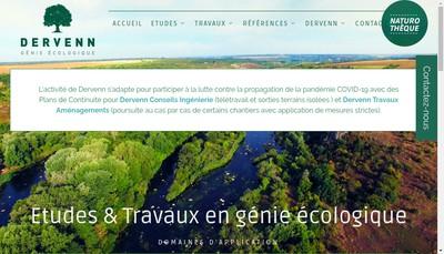 Site internet de EURL Dervenn