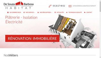 Site internet de De Souza Barbosa Habitat