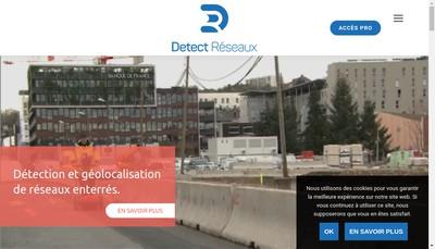 Site internet de Detect Reseaux France
