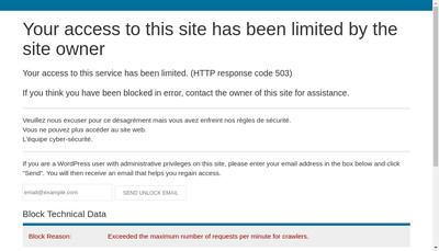 Site internet de SENEX detective prive