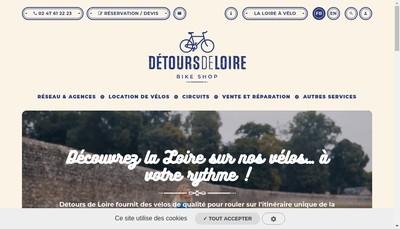 Site internet de Amstercycles Alienor Store Trek The Wine Tour
