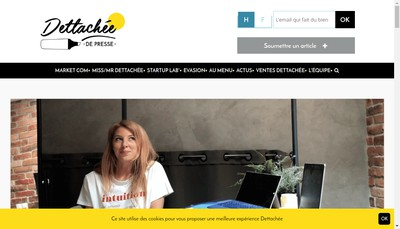 Site internet de Dettachee