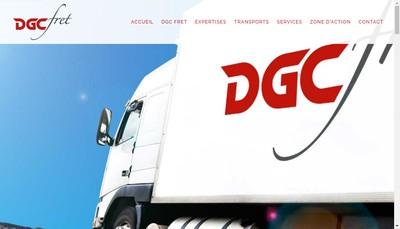 Site internet de Dgc Fret