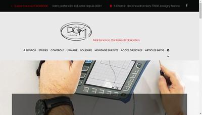 Site internet de Dgm Mongin
