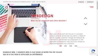 Site internet de Diabolo
