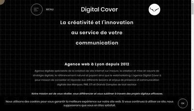 Site internet de Digital Cover Social Cover
