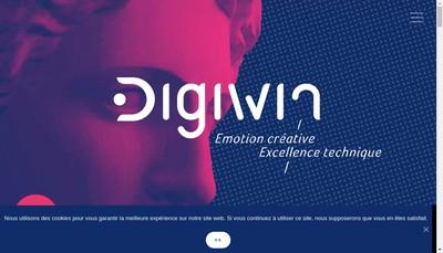 Site internet de Trsb Digiwin