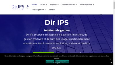 Site internet de Dir Ips