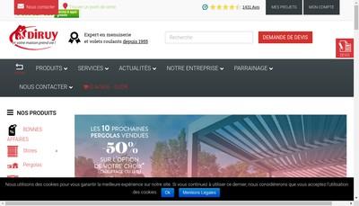 Site internet de Diruy Normandie