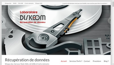 Site internet de Diskeom , Data Flash Back