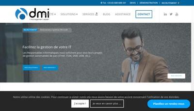 Site internet de DMI