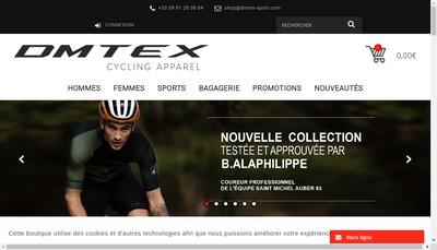 Site internet de Dmtex