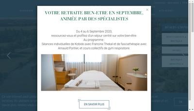 Site internet de Domaine des Etangs