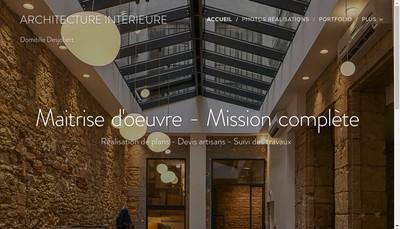 Site internet de Domitille Desjobert