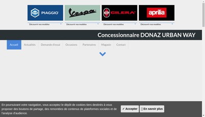 Site internet de Donaz Urban Way