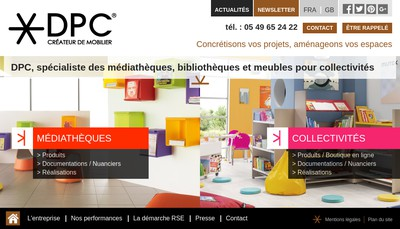 Site internet de Denis Papin Collectivites